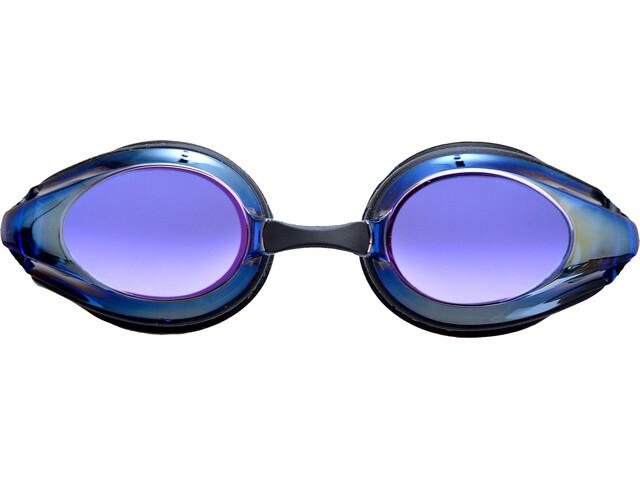 arena Tracks Mirror Goggles black-blue multi-black